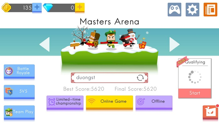 Masters Arena